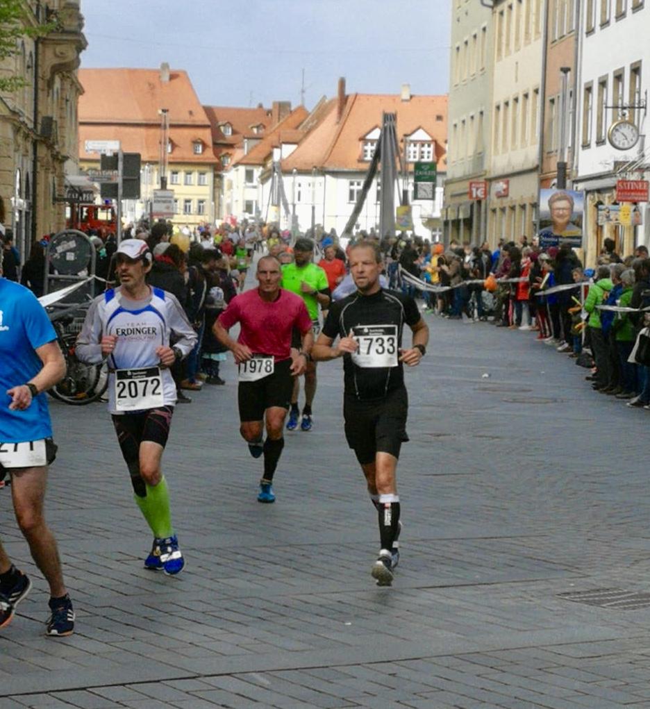 Gänsehaut beim Bamberger Weltkulturerbe Lauf